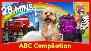 Download Learn English with Lizzy the Dog | ABC Learning Compilation for Children Video
