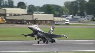 Download F-16 Belgian Air Compornent RIAT 2012 Video