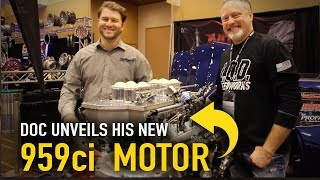Download Doc unveils his new 959ci nitrous-fed motor at PRI Video