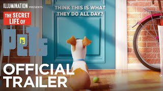 Download The Secret Life Of Pets - Official Teaser Trailer (HD) - Illumination Video