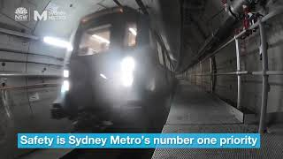 Download Sydney Metro: first complete train journey Video