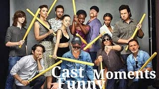 Download The Walking Dead Cast Funny Moments Video