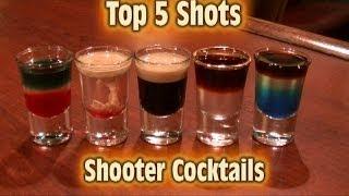 Download Top 5 Shot Drinks Shooter Cocktails Top Five Video