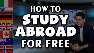 Download How to Study Abroad for Free | Indian Students विदेश में कैसे पढ़ें | by Him eesh Video