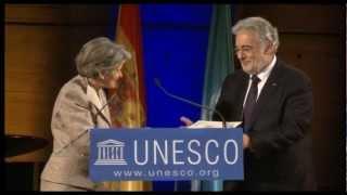 Download Placido Domingo named UNESCO Goodwill Ambassador Video
