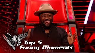 Download The Top 5 Funniest Moments So Far!   The Voice UK 2018 Video