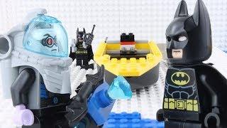 Download LEGO Batman STOP MOTION Brick Building LEGO Batman vs Mr Freeze | LEGO Batman | By LEGO Worlds Video