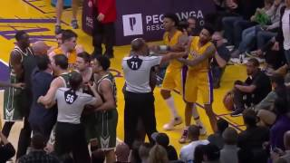Download CRAZIEST NBA FIGHTS 2017! Video