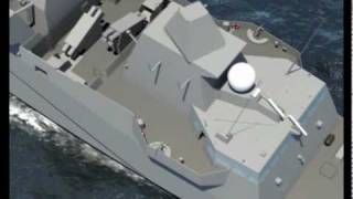 Download DCNS - FREMM Multi-Mission Stealth Frigate Aquitaine Walk-Through Simulation Video