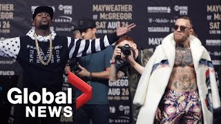 Download Floyd Mayweather vs. Conor McGregor World Tour: Showdown in New York Full Press Conference Video