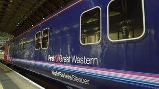 Download London to Cornwall by sleeper train: Night Riviera video guide Video