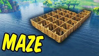 Download Building A Maze - Fortnite Battle Royale Video