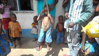 Download Basankusu: malnourished girl gets weighed - it made me want to cry! Video