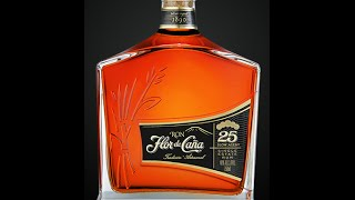 Download Flor de Cana 25 & 18 slow aged rum Video