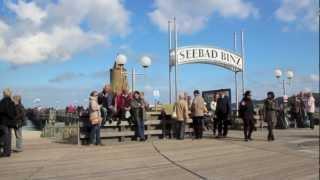 Download Impressionen Ostseebad Binz im Herbst HD Video