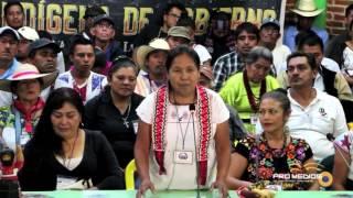 Download Primer mensaje de María de Jesús Patricio Martínez, vocera del Consejo Indígena de Gobierno Video