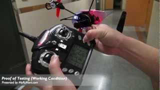 Download WL TOYS (WL-V959-M2) Future Battleship 4CH UFO with HD Camera Built-In RTF Mode2 Quadcopter Video
