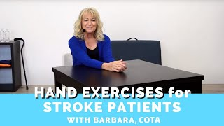 Download Best Hand Exercises for Stroke Patients at Home Video
