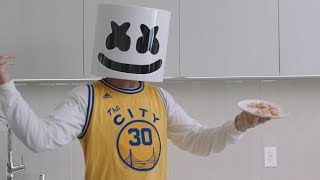 Download Cooking Chicken Curry Courtside With Marshmello Video