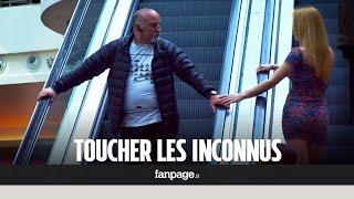 Download Qu'est-ce qui se passe si tu touches un inconnu sur les escaliers roulants? Video