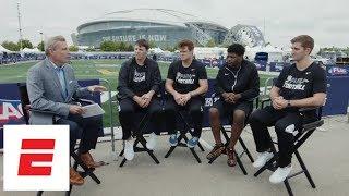 Download NFL draft QBs Josh Allen, Sam Darnold, Lamar Jackson and Josh Rosen on biggest criticisms | ESPN Video