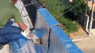 Download Aplicação de Manta Alumínio em Rufos/Calha e Telhado Video