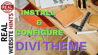 Download Install And Configure A WordPress Theme A Divi Theme Tutorial - How To Make A Website #4 Video