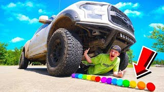 Download CRUSHING 50 SATISFYING THINGS WITH A GIANT TRUCK! Video