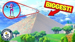 Download Building The WORLDS BIGGEST PYRAMID In Fortnite Battle Royale! Video