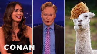 Download Megan Fox Assigns Conan His Spirit Animal Video