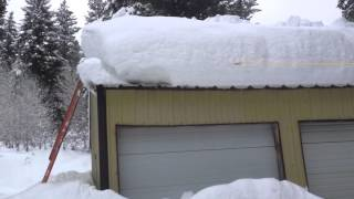 Download Shop Roof Snow Removal Video