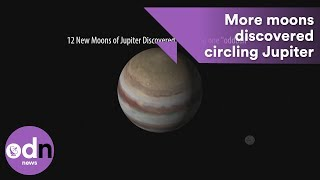 Download More moons have been found circling the planet Jupiter Video
