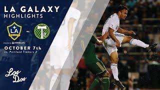 Download HIGHLIGHTS: LA Galaxy II vs. Portland Timbers 2 | October 10, 2017 Video