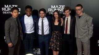 Download Maze Runner The Death Cure Red Carpet - Dylan O'Brien, Kaya Scodelario, Thomas Brodie-Sangster Video