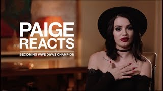 Download PAIGE REACTS to her first WWE Divas SURPRISE CHAMPIONSHIP Video