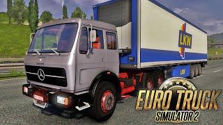 Download Viagem de Mercedes Benz - Euro Truck Simulator 2 Video