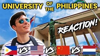 Download Foreigner Reacts to University of the Philippines Diliman (UP Diliman)! Video