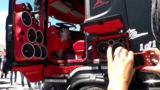 Download Misano 2013 Scania Absolute Acconcia (impianto stereo) HD Video