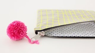 Download How to sew a lined Zipper Pouch-great for Beginners! Video