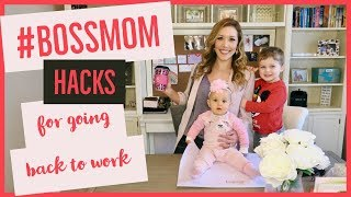 Download MATERNITY LEAVE HACKS 🤰🏼🤱🏼 | new mommy tips for going back to work Video