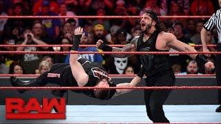 Download Roman Reigns vs. Kevin Owens: Raw, Nov. 28, 2016 Video
