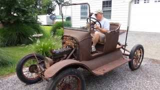 Download Model T Ford Starts after 60+ years Video