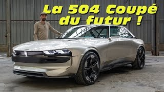 Download Peugeot e-Legend Concept : la 504 Coupé du futur ? Video