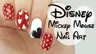 Download Disney Mickey Mouse Nail Art Video
