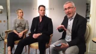 Download Jennifer Lawrence and Chris Pratt - AlloCiné Paris Passengers interview Video