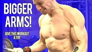 Download Workout For BIGGER ARMS! | Give It A Try Video