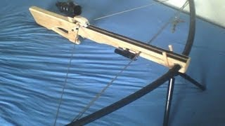 Download Homemade compound PVC crossbow Video