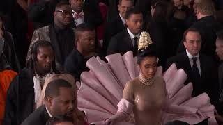 Download Cardi B On The Red Carpet | 2019 GRAMMYs Video