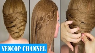Download 7 Peinados Faciles Y Rapidos Con Cabello Suelto | Peinado 2015 - 2016 ♥ Yencop Video