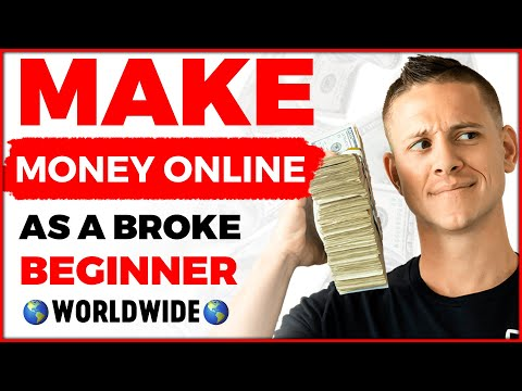 BEST Way To Make Money Online As A Broke Beginner! (2020)
